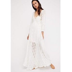 VERY RARE FREE PEOPLE LOVE SPELL DRESS S